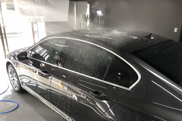 VWパサートセダン ガラスコーティング施工事例!横浜市保土ヶ谷区のお客様よりご依頼頂きました。